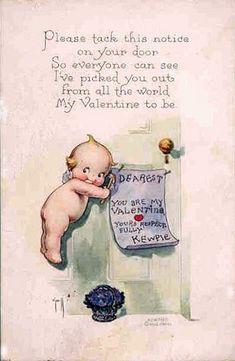 kewpie  | Vintage Kewpie Valentine Postcard | Flickr - Photo Sharing!