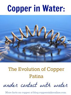 What affects the 'living finish' of #copper items the most? Find out how copper patina changes under contact with water. #homedesign #remodeling #ideas