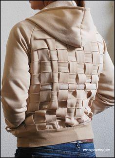 DIY: hoodie weave