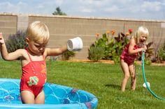 summer time fun. making memories and cooling off!... pretty much all the time