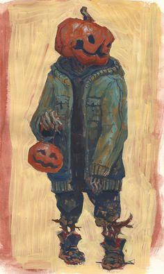 ArtStation - Sketchbook paintings, Edward Delandre