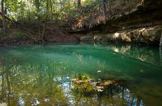 Orangeville Rise - Where the underground Lost River resurfaces