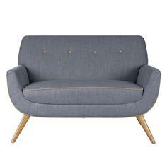 Skandi Charcoal Snuggle Chair