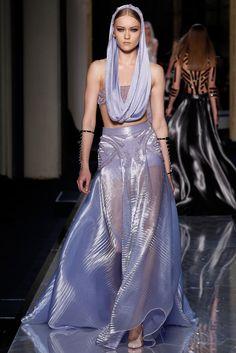 Atelier Versace Spring 2014 Couture Fashion Show - Katya Riabinkina (Elite)