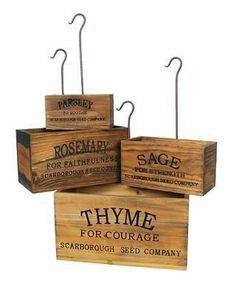 Herb Box Set Of 4