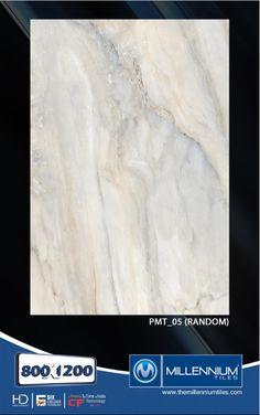 Millennium Tiles 800x1200mm (32x48) PGVT Porcelain Matt XXL Floor Tiles Series  - PMT_05