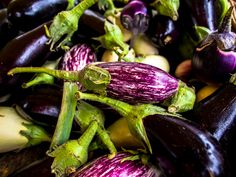 #Aubergine (or eggplant) at the #march #Bastille is a wonderful #outdoor #market in the hear of the Bastille open on Thursdays ad Sundays.  Photographed with the #Olympus #OM-D #E-M5.