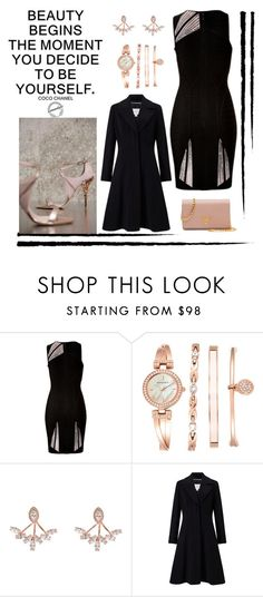 """""""Untitled #152"""" by joanna-tabakou ❤ liked on Polyvore featuring Hervé Léger, Anne Klein, Wild Hearts, John Lewis and Prada"""