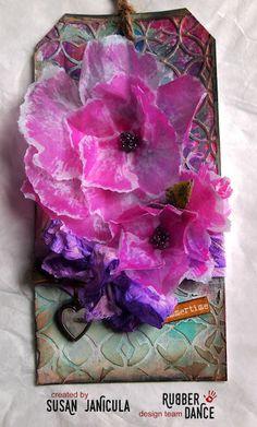 Rubber Dance Skandinavisk Blogg: Sommerblomster i silkepapir