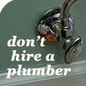 A list of Plumbing repairs and projects to prevent having to hire a plumber on Pretty Handy Girl