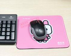 Decorative mouse pad for home or office