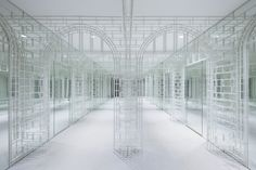 One of Japanese design studio Nendo's biggest projects to date is 'Siam Discovery': the total refurbishment of the exterior and interior of a stylish retail. Siam Discovery, Flooring Sale, Shops, Japanese Design, Minimalist Interior, Stage Design, Best Interior, Design Firms, Retail Design