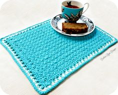 Tea Time Placemat... Free Crochet Pattern!