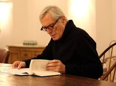 """""""The language of a poem is meant to be meditated on. You clear a psychic space for poetry that's different from the one you clear for prose. It's a space in which words loom large. And this cleansed psychic space that readies itself for a poem is really one in which the poem is both read and heard."""" - Mark Strand"""
