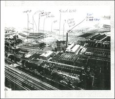 Photocopy of early image of the Pullman factory, probably very early 20th century. Source unknown.