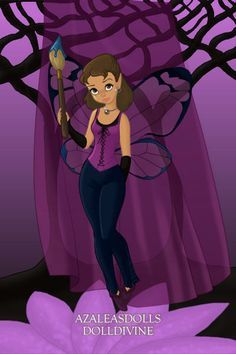 Me as a Fairy(Short Hair) ~ by anastasia95 ~ created using the Pixie doll maker | DollDivine.com