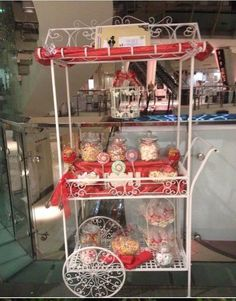 Vintage Iron Candy Cart for hire £50 (Stockport area)