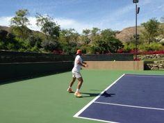 Rafael Nadal begins training for Miami Masters  Friday, March 14th, 2014
