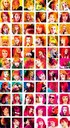 The many faces (and hair styles) of Hayley Williams