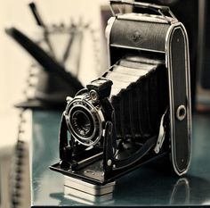 Old cameras make for interesting art, collectables, examples of design,and holder of memories...