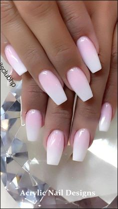 Cute and Beauty Ombre Nail Design ideas for This Year 2019 - Page 18 of 24 - Nails - Nageldesign Ombre Nail Designs, Acrylic Nail Designs, Nail Art Designs, Nails Design, Light Pink Nail Designs, Pedicure Designs, Popular Nail Designs, Pedicure Ideas, Acrylic Art