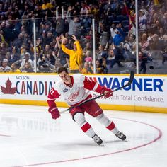Dylan Larkin....fastest skater in record setting fashion