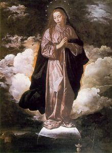 L Immaculée Conception - (Diego Velazquez)