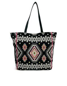 New Look Woven Beach Bag