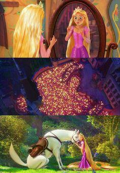 Tangled, by far my Favorite Disney princess movie.
