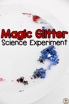 Are you looking for a simple science experiment for kids? Sometimes experiments are too complicated for young children and require a lot of supplies! This Magic Glitter Science Experiment is a simple activity that can be done with young scientists in preschool and kindergarten. Plus, you just need a few supplies that you probably already have in your classroom or at home. Click on the picture to learn how to do this science experiment for kids! #scienceexperiment #scienceforkids #scienceactivity