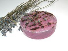 Lavender Soap Purple lavender Flower soap Organic natural soap Glycerin soap Handmade soap Floral vegan soap Wedding party favor Women gift