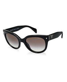 409b40f12492 Prada Sunglasses, PR 17OS & Reviews - Sunglasses by Sunglass Hut - Handbags  & Accessories - Macy's