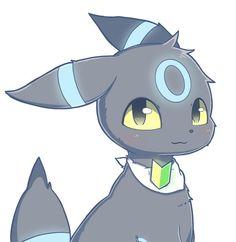 Shiny Umbreon Pokemon Umbreon, Eevee Evolutions, Pikachu, Cute Pokemon Pictures, Pokemon Images, Shiny Umbreon, Manga Anime, Cute Animal Drawings, Furry Art