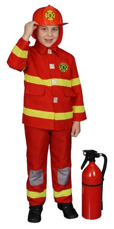If you are interested in Boy Fire Fighter ... visit http://www.bargainsdelivered.com/products/boy-fire-fighter-dress-up-child-costume-red-size-large-12-14 at Bargains Delivered