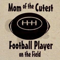 Football Mom Tote Bag~