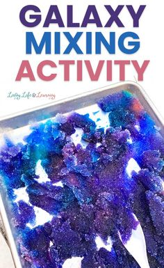 """The kids are going to love this Galaxy Snow Mixing Activity. It's a super fun way to make an """"out of this world"""" look by mixing fun supplies with fresh snow! Snow Activities, Winter Activities For Kids, Painting Activities, Snow Pictures, Painting Snow, Funky Design, Building For Kids, Pink Plastic, Winter Theme"""