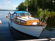 Polstar mahognybåt