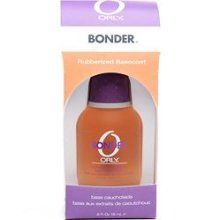 Orly Bonder Rubberized Base Coat.  I have short nails but I like to wear darker polish (which shows every tiny chip).  This is not a miracle product but it definitely extends the life of my manicure.  I still have to touch up on day 4-5 with the polish due to wear around he cuticles mostly, but I recommend this product because polish does not stay on my nails without it.  I've read reviews (as always!) and this was a top seller.  One woman said she climbed a mountain without a chip.  Holy…