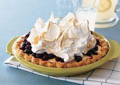 Lemon Meringue Blueberry Pie by Bon Appetit Magazine
