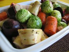 Sides & Salads: #Roasted Root #Vegetables  #christmas #recipes