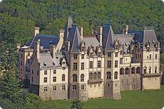 Biltmore Estate in Asheville, N.C.  A castle in America!