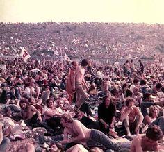Isle of Wight Festival. 1970.