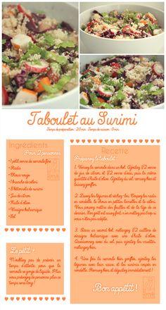 Les Gourmandises de Jelly: ♥ 053 • Taboulet au Surimi ♥