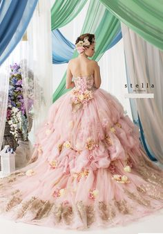 (from Annette Richey Gabbard). Beautiful Costumes, Beautiful Gowns, Bridal Gowns, Wedding Gowns, Posh Dresses, Disney Princess Dresses, Fairy Dress, Gowns Of Elegance, Dream Dress