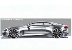 Audi Sport quattro Concept Design Sketch