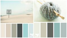 les nuances douces pour la cuisine moderne - couleur sable, bleu ou gris