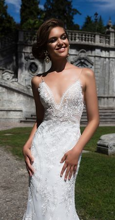 Milla Nova Bridal 2017 Wedding Dresses sheylin2 / http://www.deerpearlflowers.com/milla-nova-2017-wedding-dresses/23/