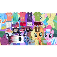 My Little Pony Friendship is Magic-If they were real outfits by sarahfriedman-1 on Polyvore