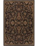 RugStudio presents Surya Arabesque ABS-3008 Black Machine Woven, Good Quality Area Rug