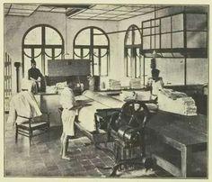 Laundries : Grand Hotel Preanger 1930
